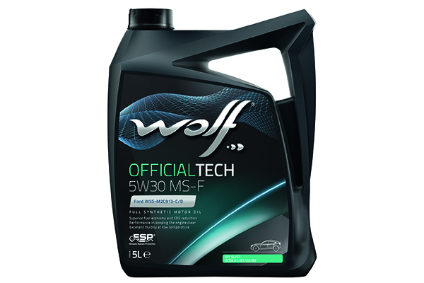 WOLF 65609/5 OfficialTech 5W-30 MS-F 5 л моторное масло